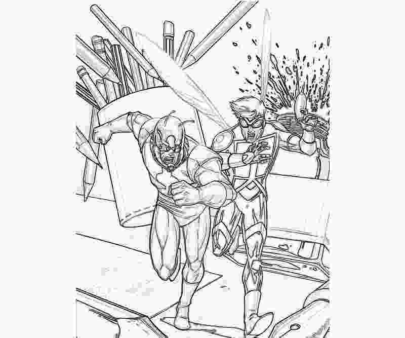 ant man coloring pages antman antman love jozztweet
