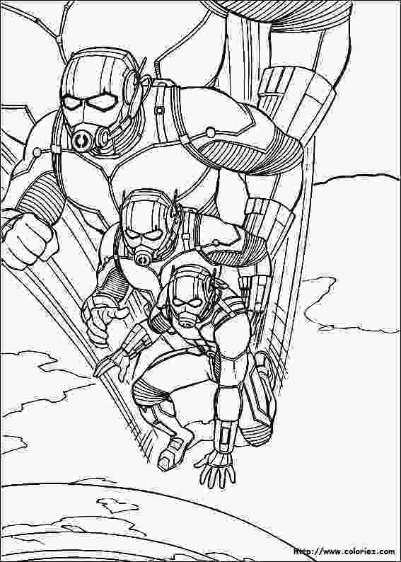ant man coloring pages antman superheroes printable coloring pages 1