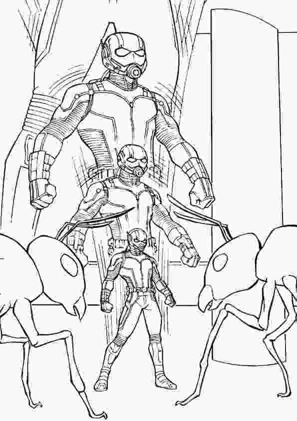 ant man coloring pages free printable ant man coloring pages 1