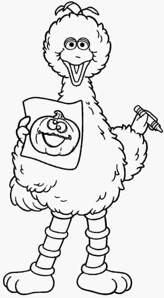 big bird printable coloring pages printable big bird coloring pages for kids