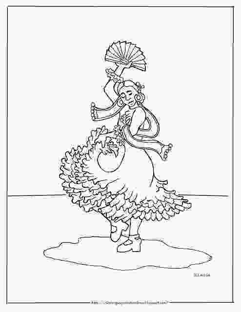 boy dancer coloring page coloring pages for kids by mr adron printable spanish