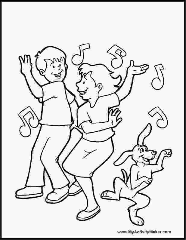 boy dancer coloring page dancing coloring page google search kids worship bags