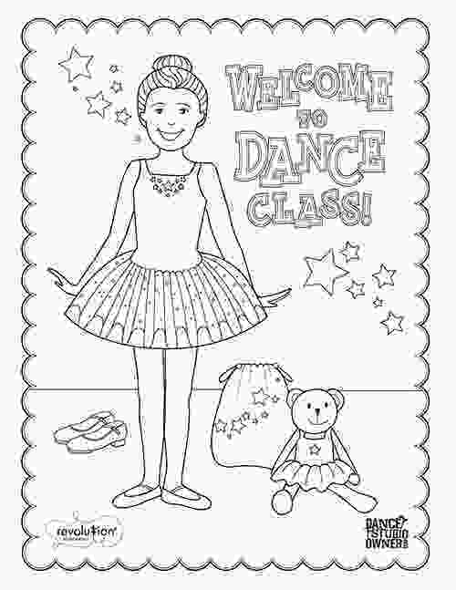 boy dancer coloring page free printable dance class coloring pages for kids and