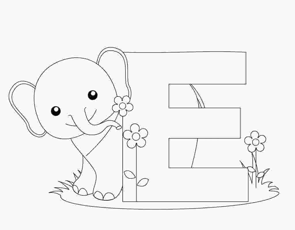 coloring alphabets with pictures free printable alphabet coloring pages for kids best