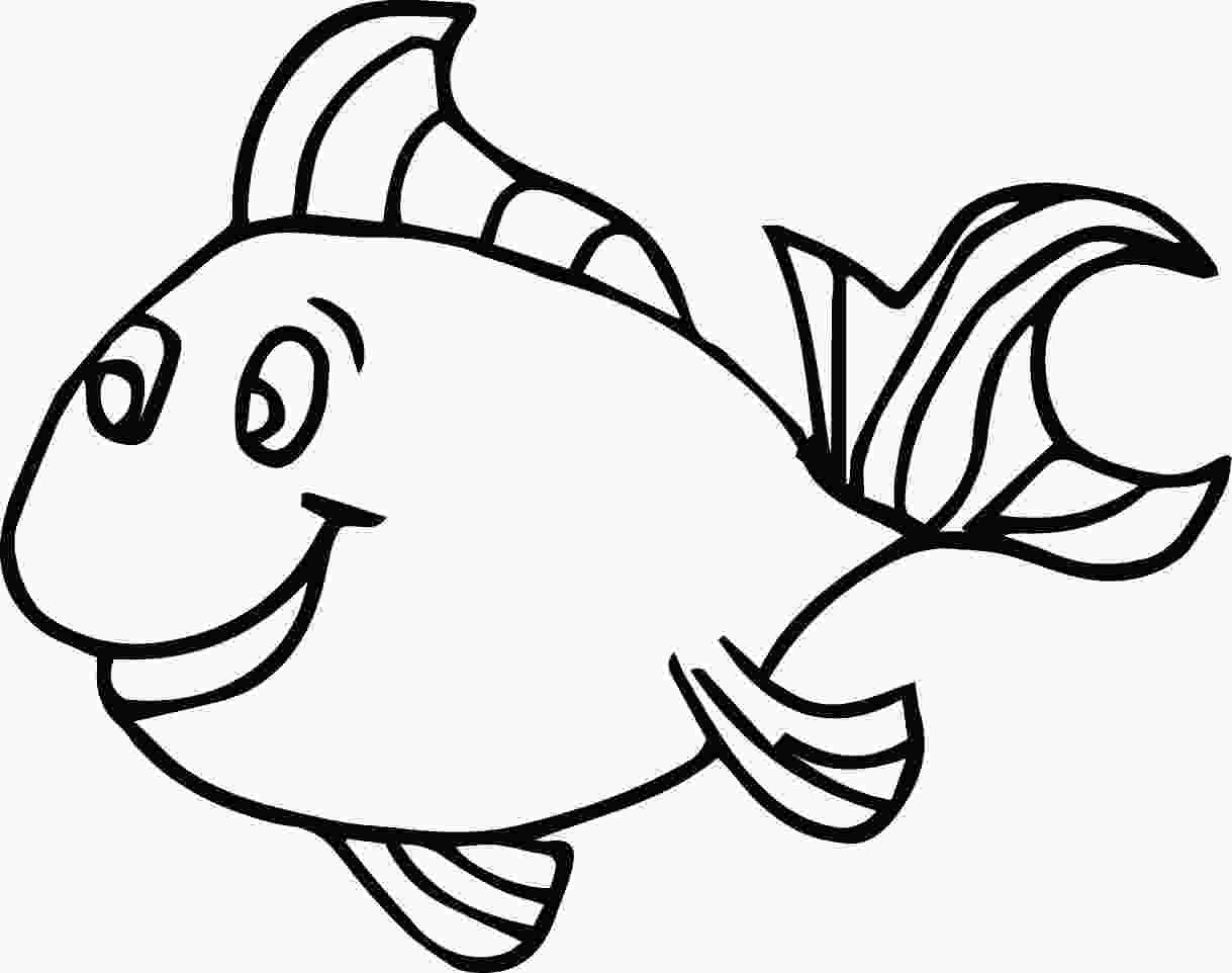 coloring fish printables fish coloring pages for kids preschool and kindergarten