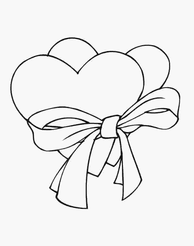 coloring page hearts free printable heart coloring pages for kids