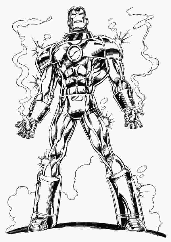 coloring pictures of iron man kidsnfuncom 60 coloring pages of iron man