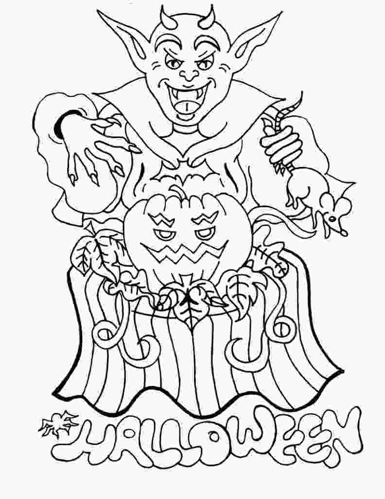 coloring sheet halloween free printable halloween coloring pages for kids 1