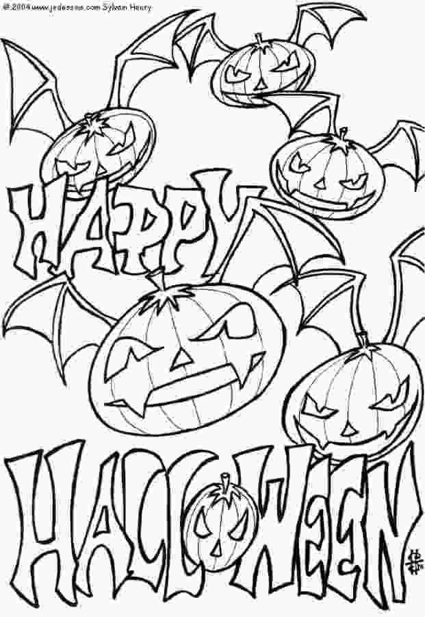 coloring sheet halloween free printable halloween coloring pages for kids 3