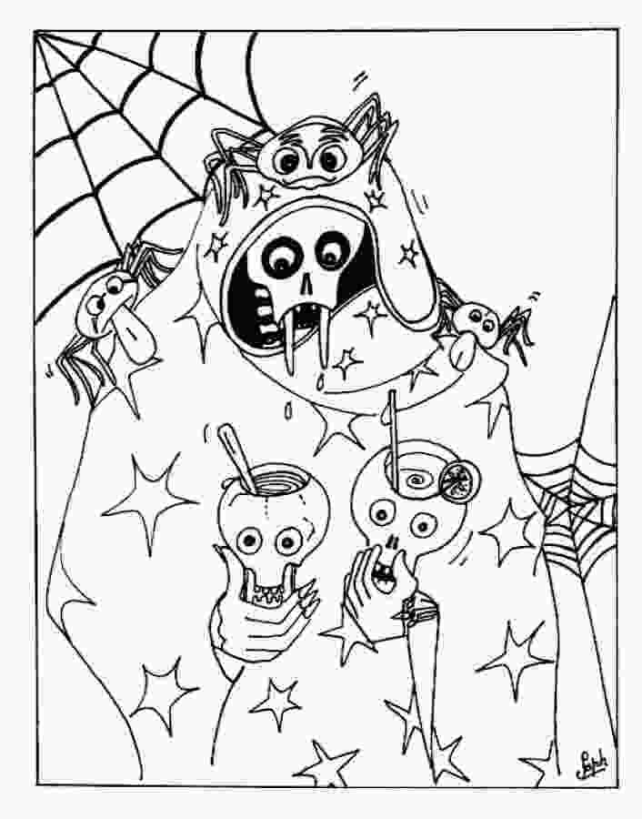 coloring sheet halloween free printable halloween coloring pages for kids
