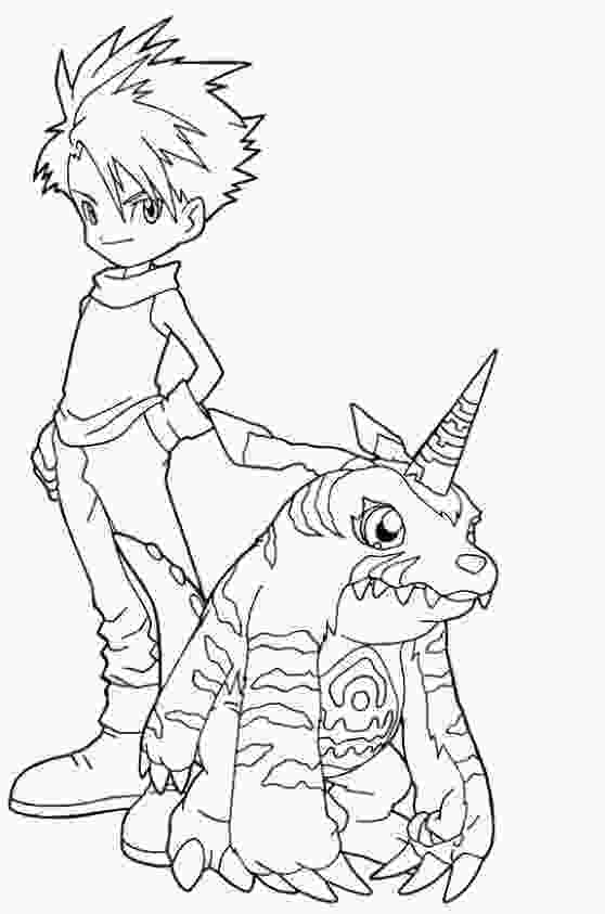 digimon coloring 59 best digimon coloring pages images on pinterest