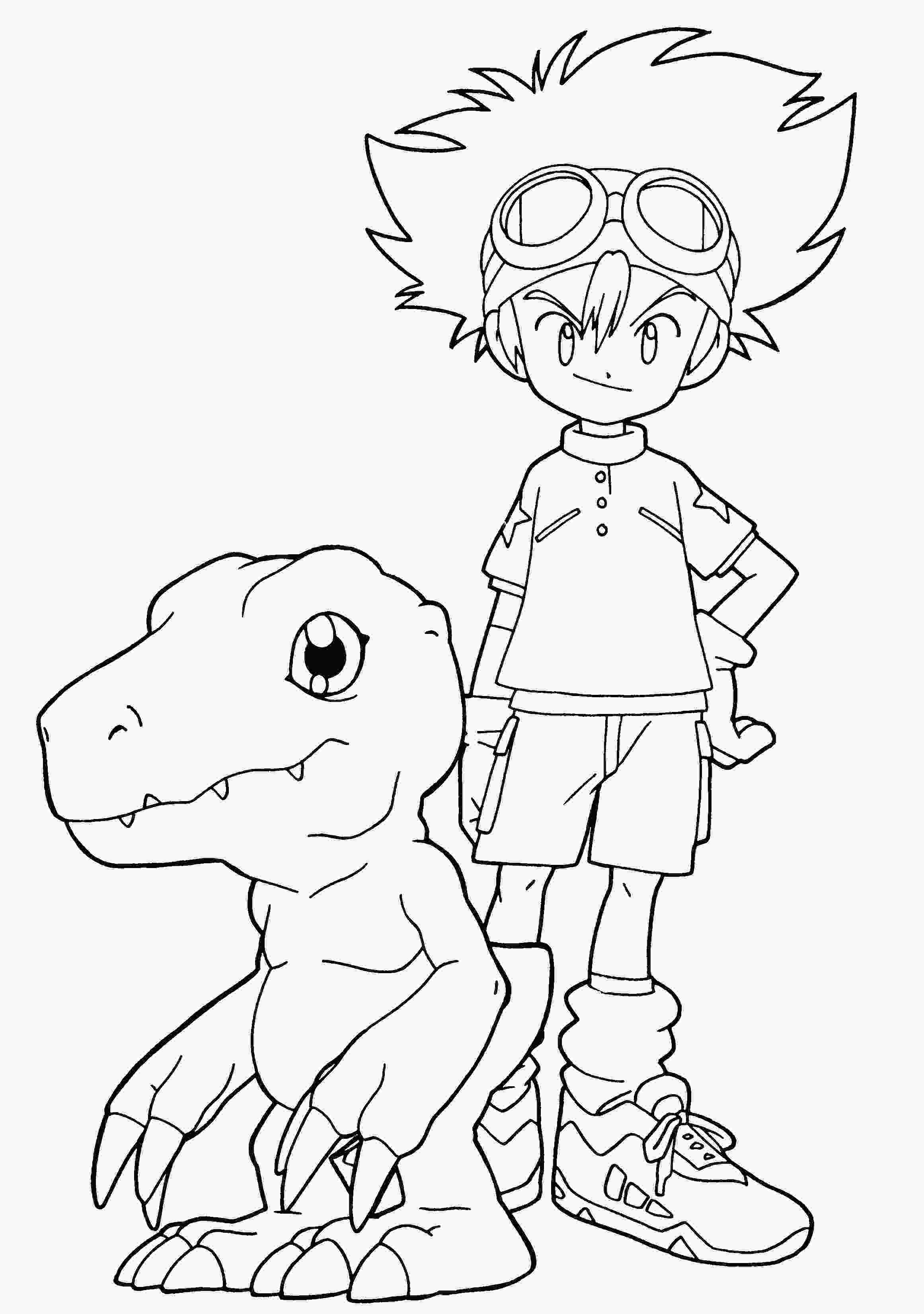 digimon coloring digimon coloring pages coloring page digimon