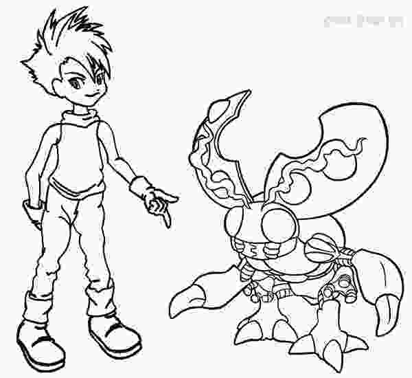 digimon coloring printable digimon coloring pages for kids cool2bkids