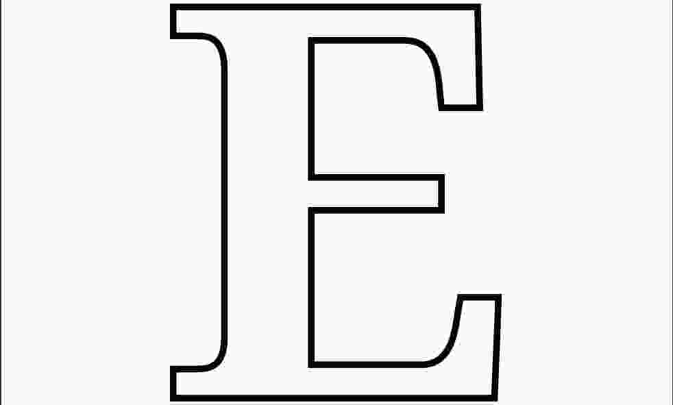 e coloring page printable letter e coloring pages to download and print for free