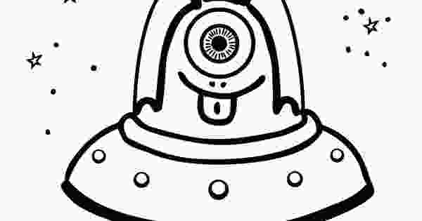 funny alien coloring pages funny alien in ufo coloring page for kids website full