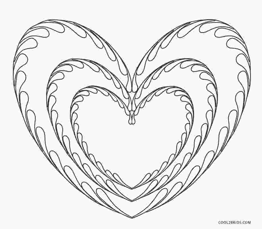 heart colouring page free printable heart coloring pages for kids cool2bkids