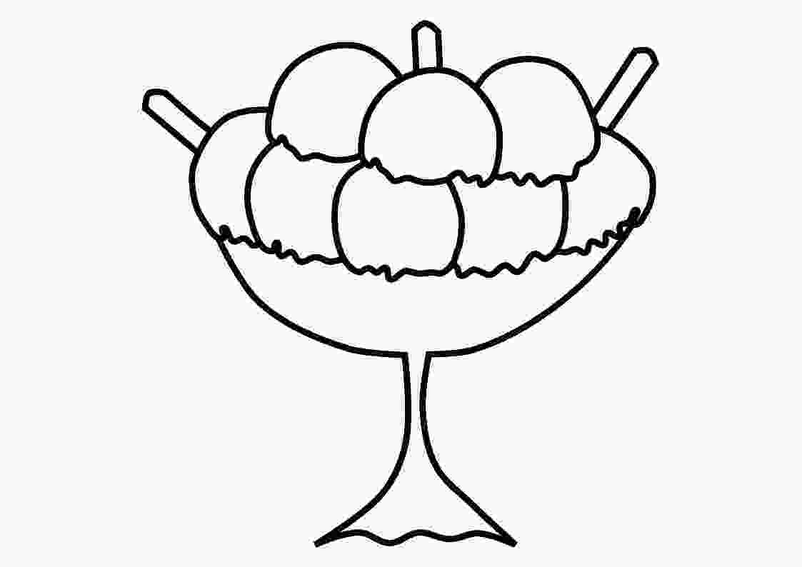 ice cream sundae coloring free printable ice cream coloring pages for kids