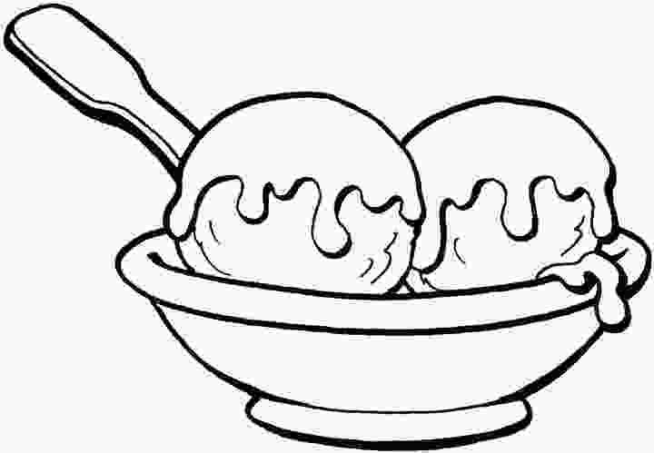 ice cream sundae coloring ice cream coloring pages coloring pages to print