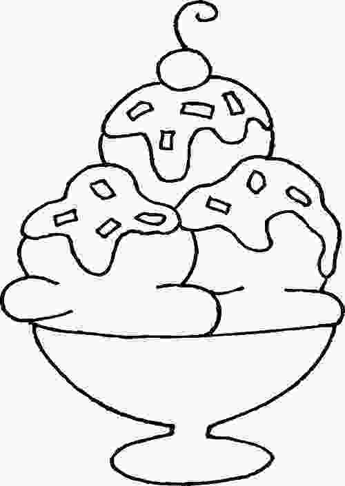 ice cream sundae coloring ice cream sundae coloring sheets coloring page