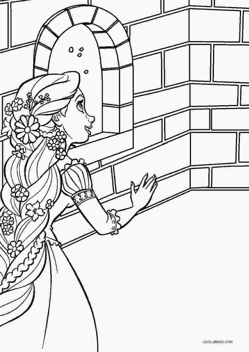 picture coloring free printable tangled coloring pages for kids cool2bkids 1