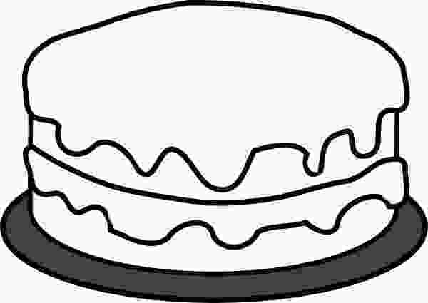 picture of cake to color 37 cake coloring page cake coloring page coloring home