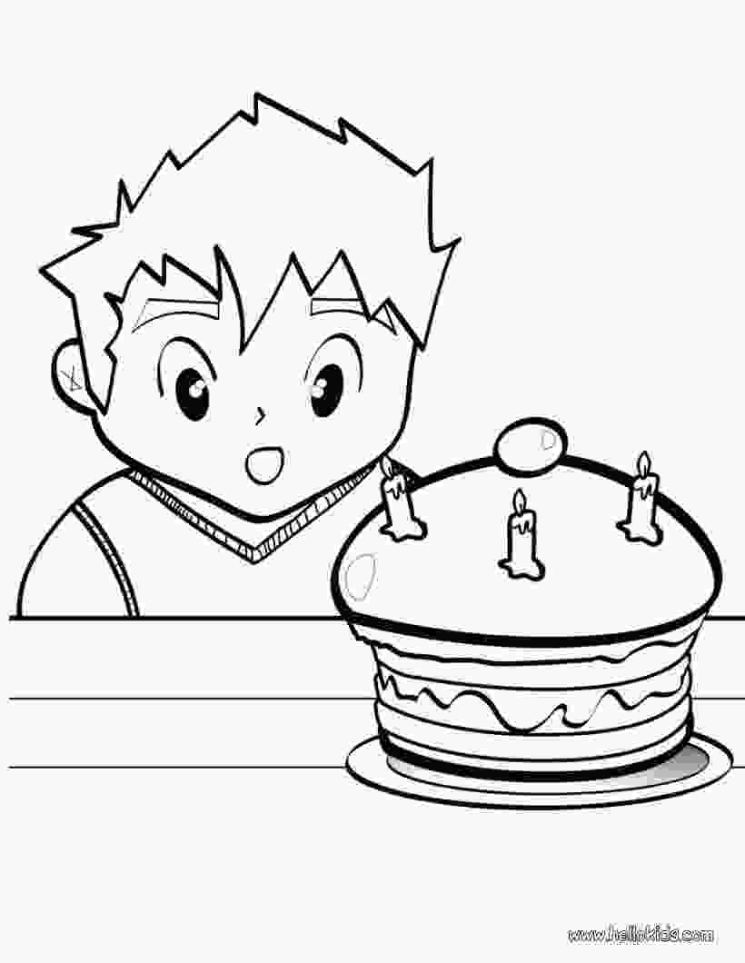 picture of cake to color birthday cake coloring pages birthday cake