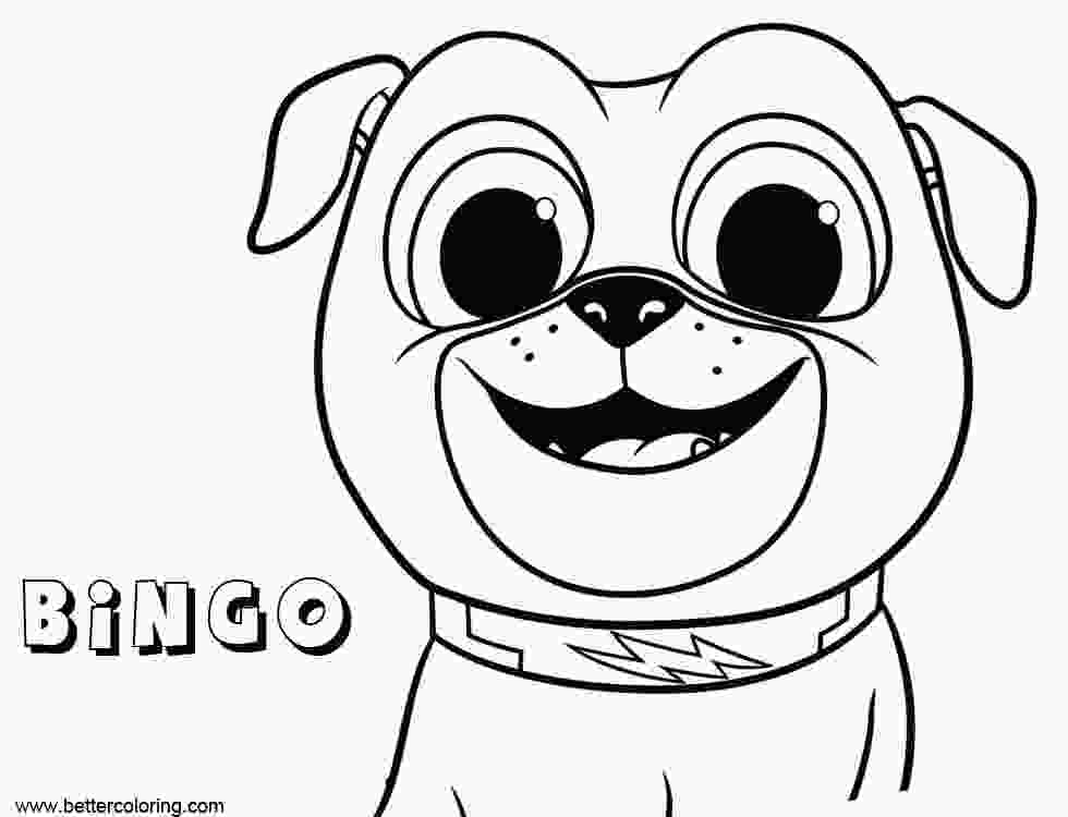 puppy dog pals coloring pages printable bingo from puppy dog pals coloring pages free printable