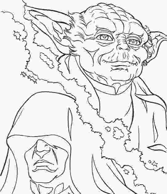 yoda coloring pictures 為孩子們的著色頁 yoda star wars free coloring pages 2