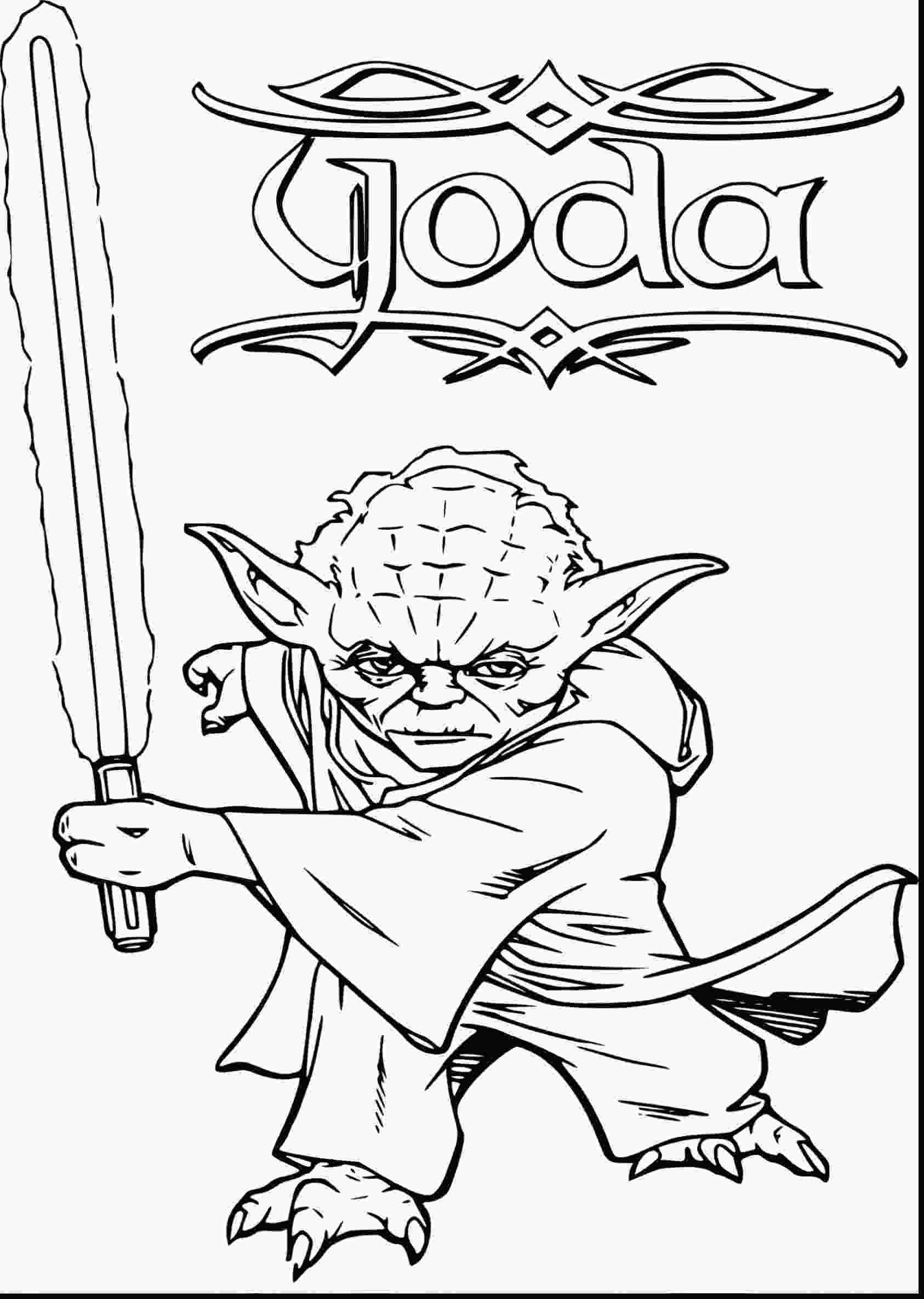 yoda coloring pictures star wars yoda drawing at getdrawingscom free for