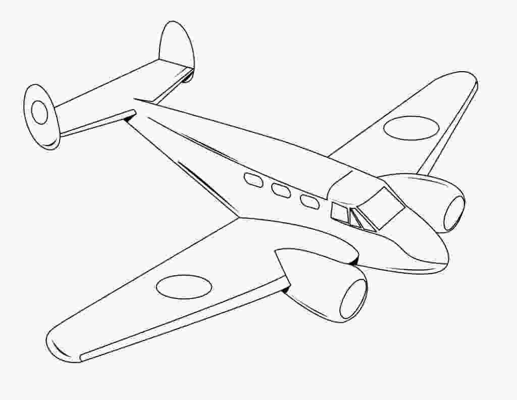 airplane coloring pictures free printable airplane coloring pages for kids