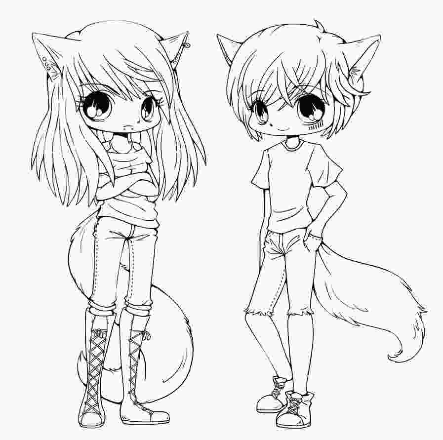 anime boy coloring pages chibi coloring pages to download and print for free