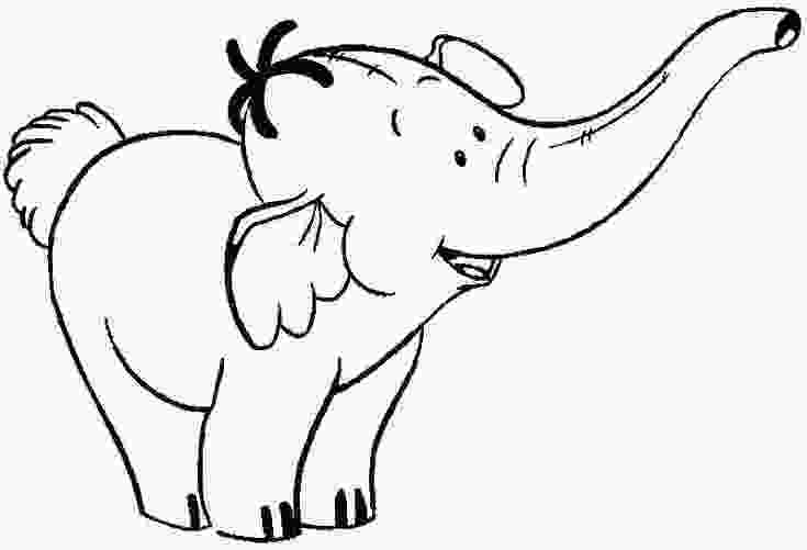 baby elephant cartoon coloring pages baby elephant coloring pages cute elephant coloring page