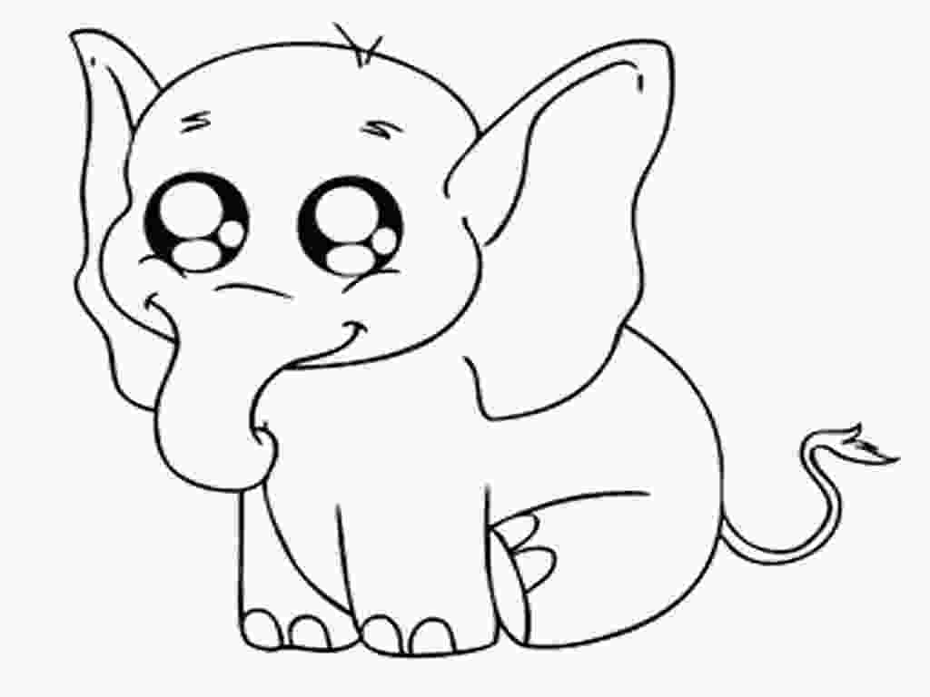 baby elephant cartoon coloring pages baby elephant coloring pages to download and print for free