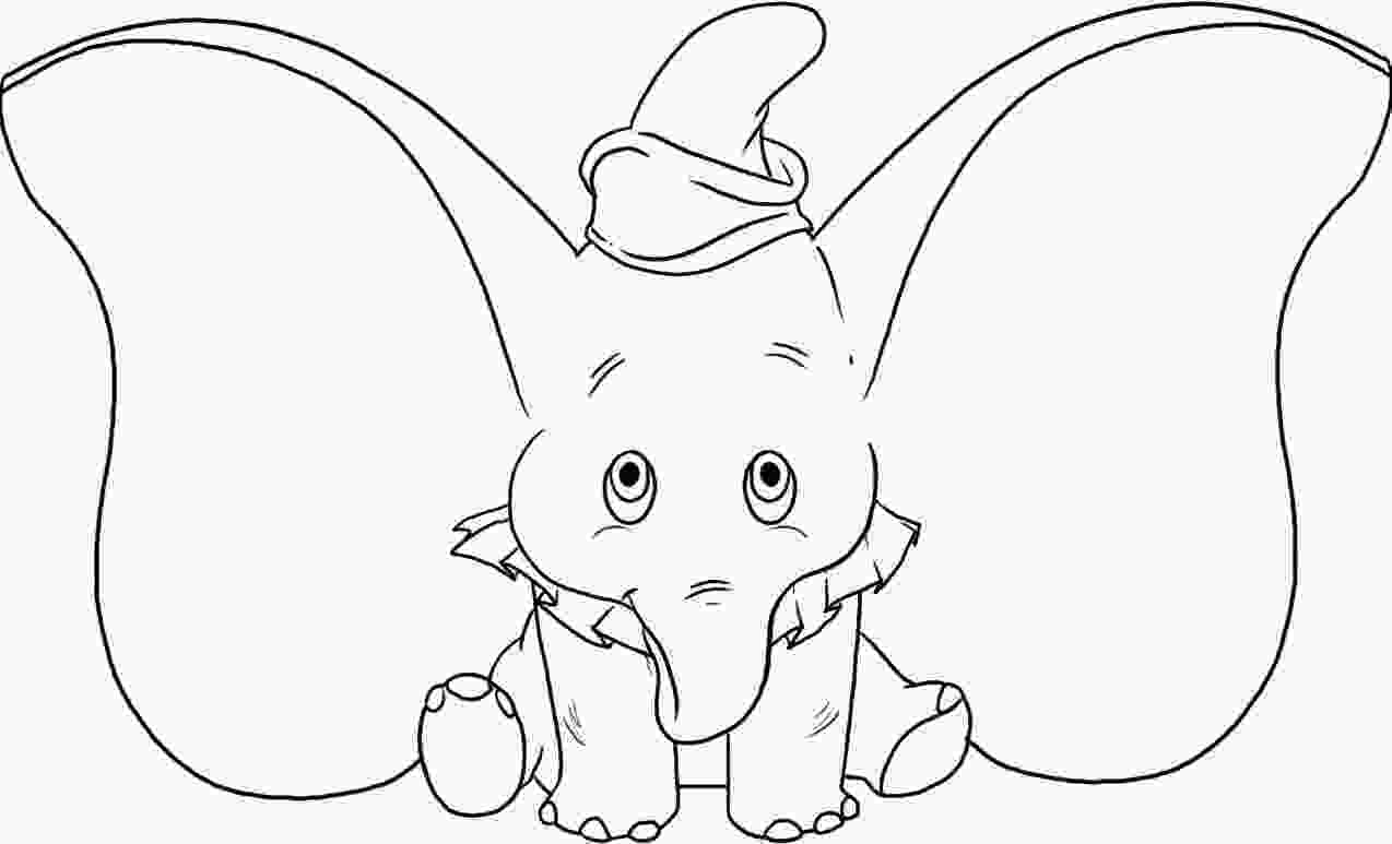 baby elephant cartoon coloring pages free printable elephant coloring pages for kids