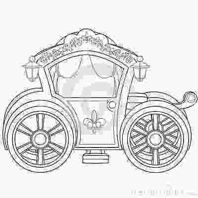 carriage coloring pages carriage coloring book page stock vector image 45515359