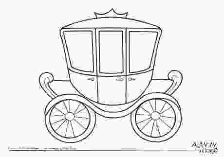 carriage coloring pages carriage colouring page 2 anj princess carriage