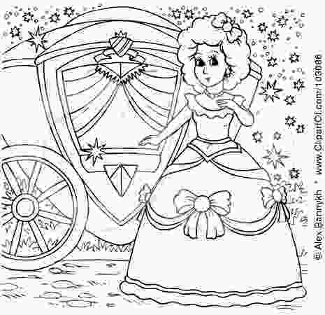 carriage coloring pages carriage princess coloring pages