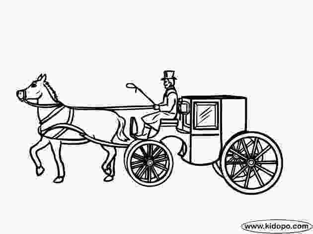 carriage coloring pages horse carriage coloring page c2 week 11 pinterest