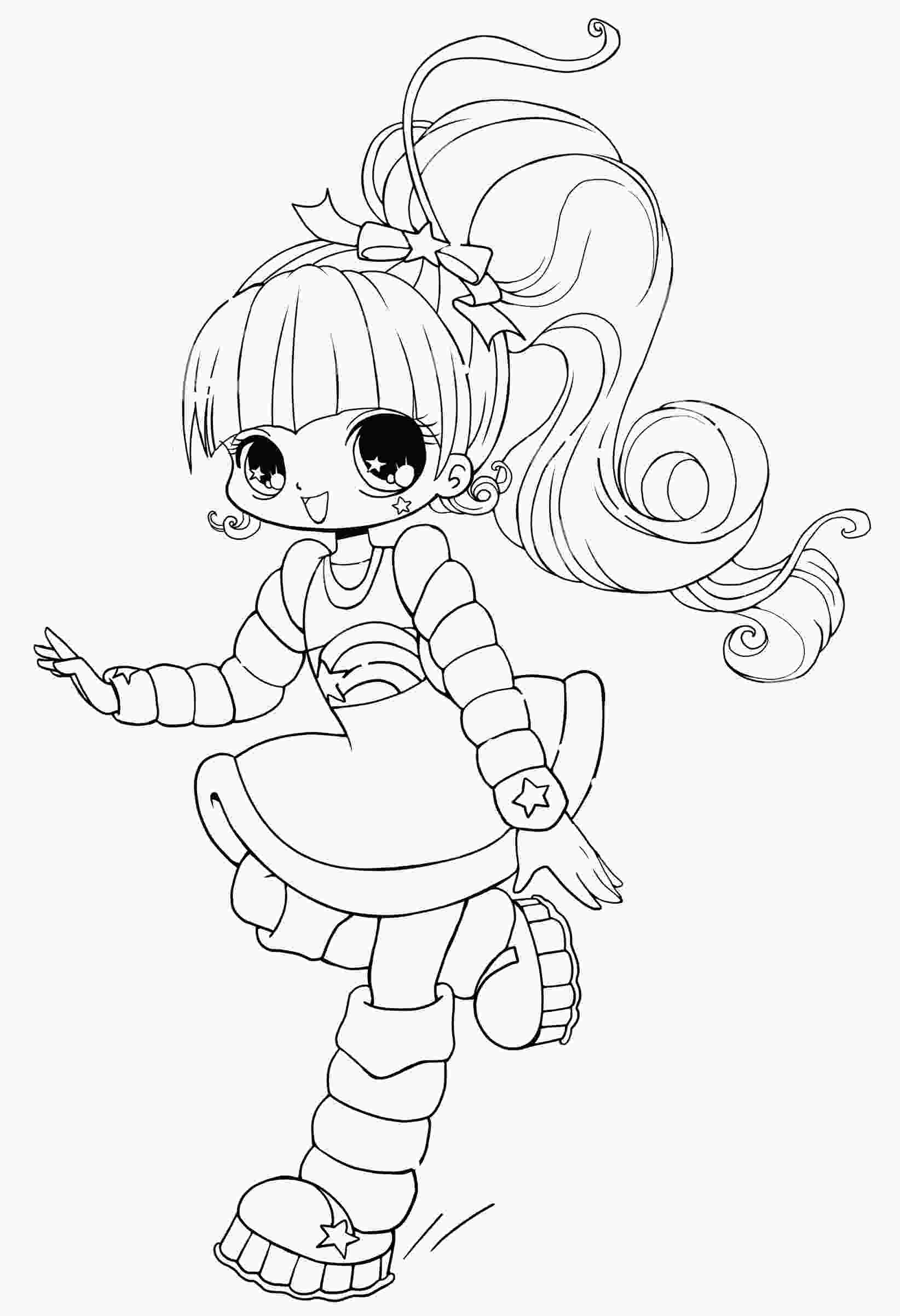 chibi anime coloring pages free printable chibi coloring pages for kids