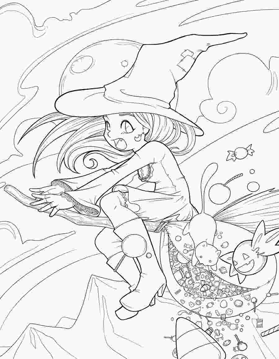 coloring halloween line art anime coloring pages deviantart gallery coloring for