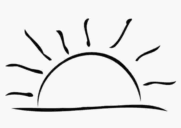 coloring image sunset coloring page sunset img 19325 images