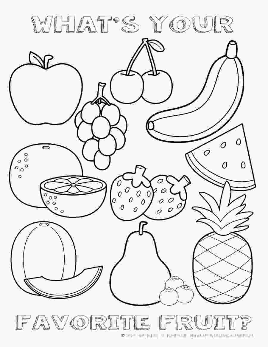 coloring images of vegetables free fruit coloring page happiness is homemade teacher