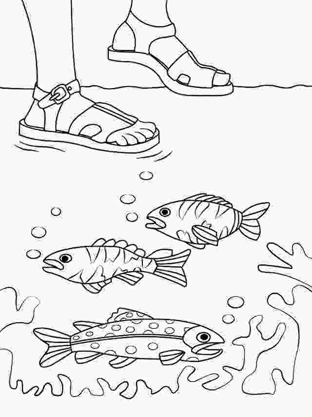 coloring jesus walks on water activity 17 best images about bible nt peter walks on the water on