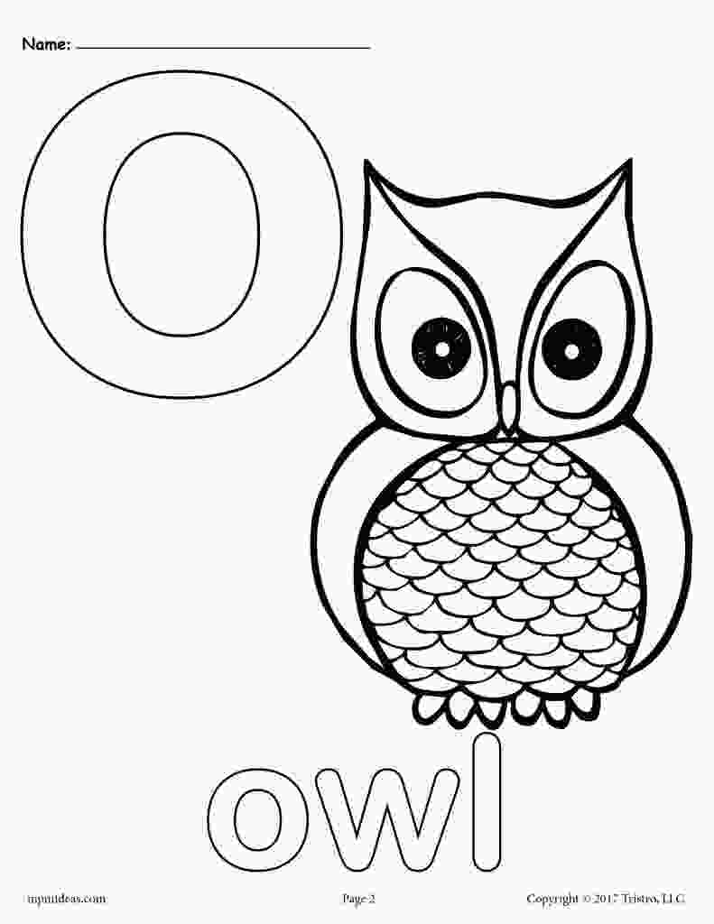 coloring letter o worksheets letter o alphabet coloring pages 3 free printable