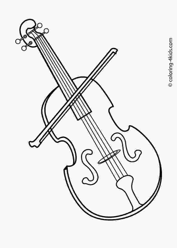 coloring music for kids musical instrument coloring pages print out coloring