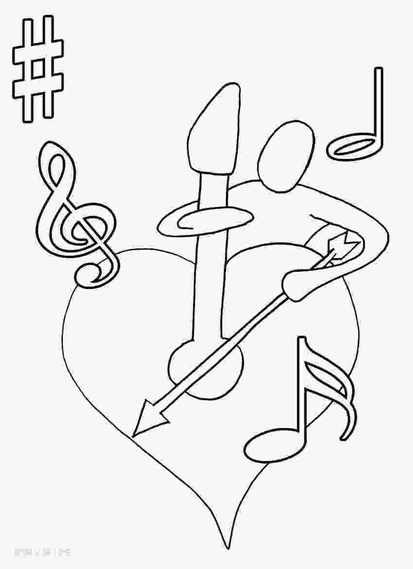 coloring music for kids printable music note coloring pages for kids cool2bkids