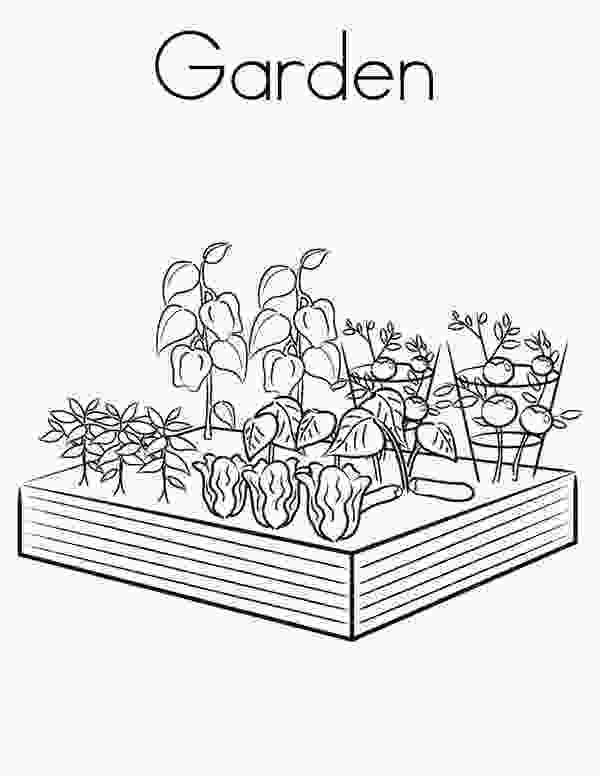 coloring page garden 15 best images about 4h garden coloring pages on