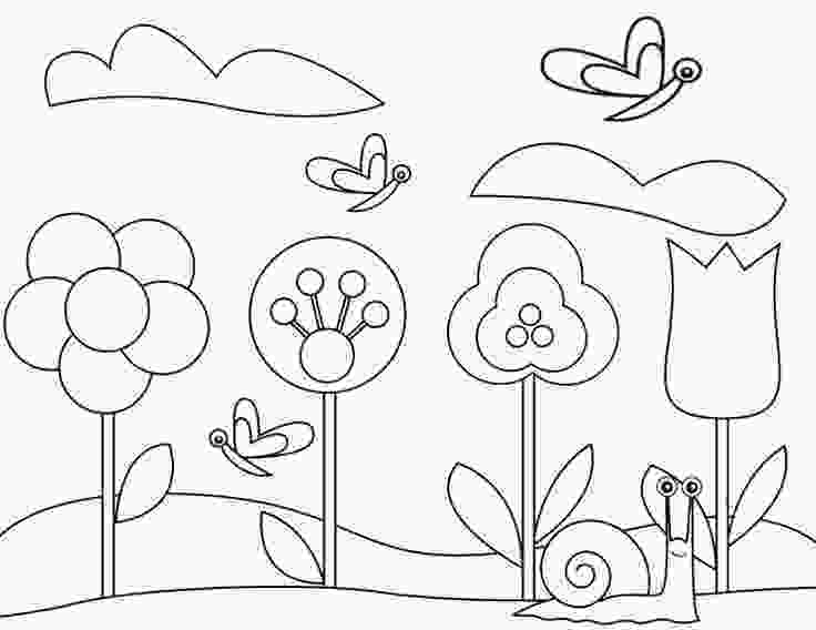 coloring page garden 18 best gardening coloring pages images on pinterest