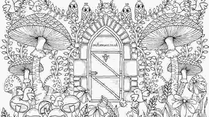 coloring page garden free garden coloring page for adults crafts on sea