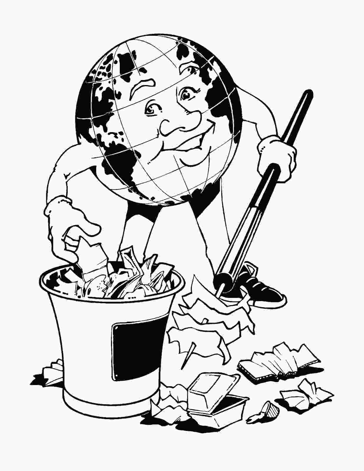 coloring pages eco friendly coloring pages